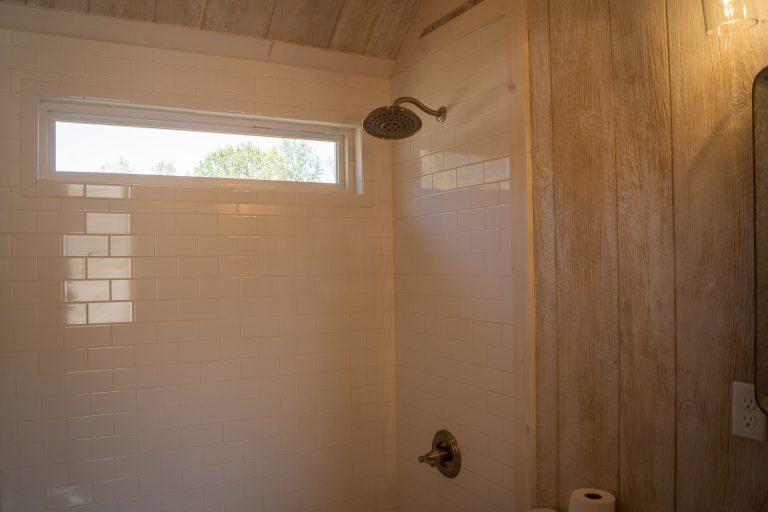 gray red TH bathroom